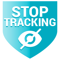 Stop Tracker Shield Icon