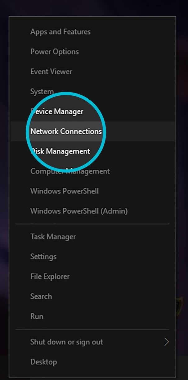 Tenta DNS Setup for Windows | Tenta VPN Browser